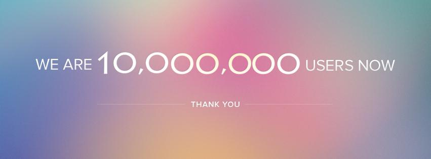 10,000,0000 de usuarios en Zoho
